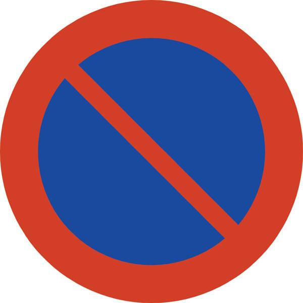 Parkering Forbudt - Skilt Nr  372